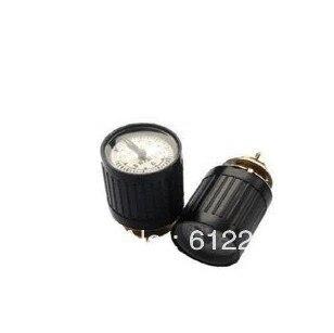 1pcs 10 Turns Dial Pointer Potentiometer WXD2-53 47K ohms