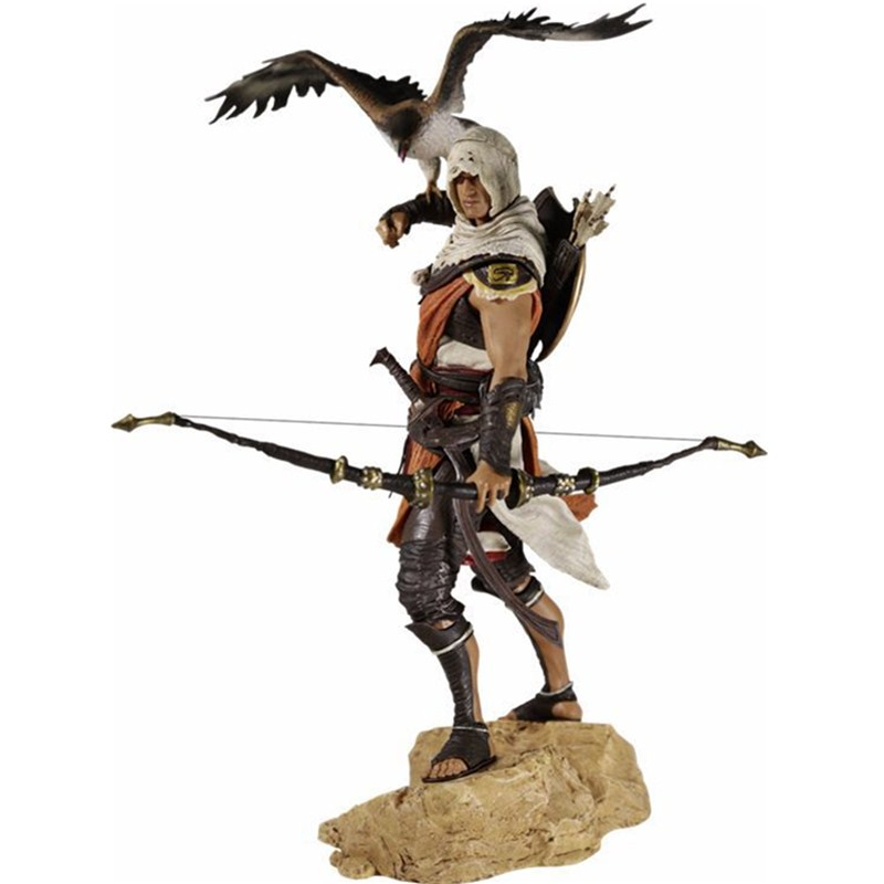 25cm Assassin's Creed Origins Bayek Action Figure 1/6 scale Figure PVC Action Figure Collection Model Toy RETAIL BOX L1284 assassins creed origins aya pvc figure collectible model toy 22cm