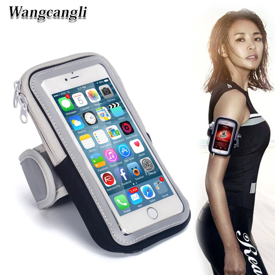 Wangcangli For Iphone Mobile Bracelet Run Phone Armband Cover For Running Arm Band The Holder Of The Phone On The Arm Discounts Price Mobile Phone Accessories