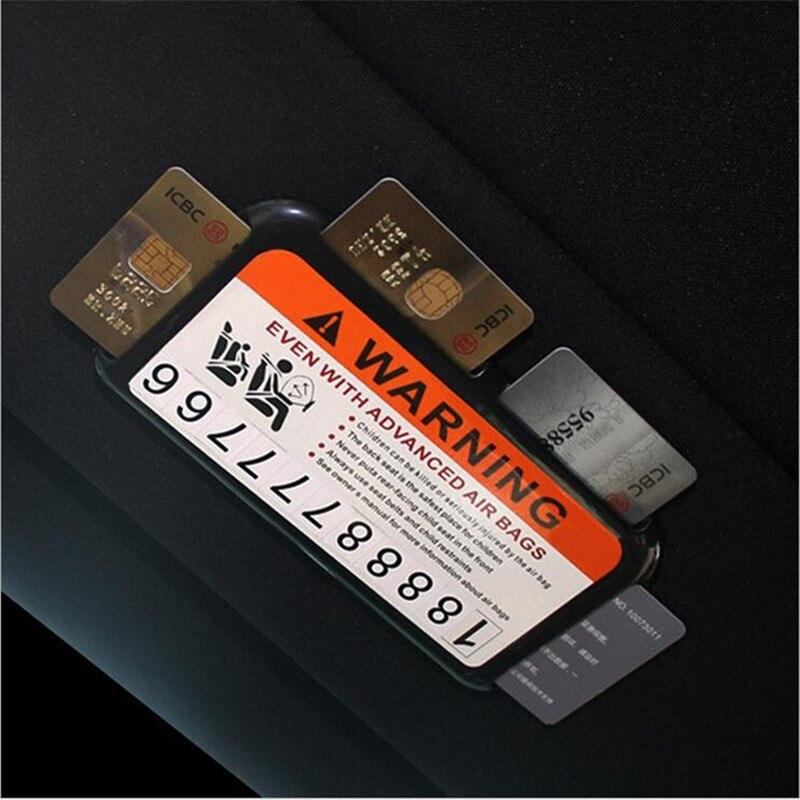 Car sun shade card folder card holder business card holder ...