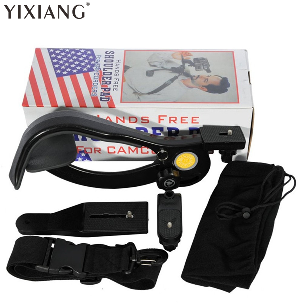 YIXIANG Handsfree Shoulder Support Pad Stabilizer for Camcorder DSLR Camera DV steady Tool For Professional Photograph