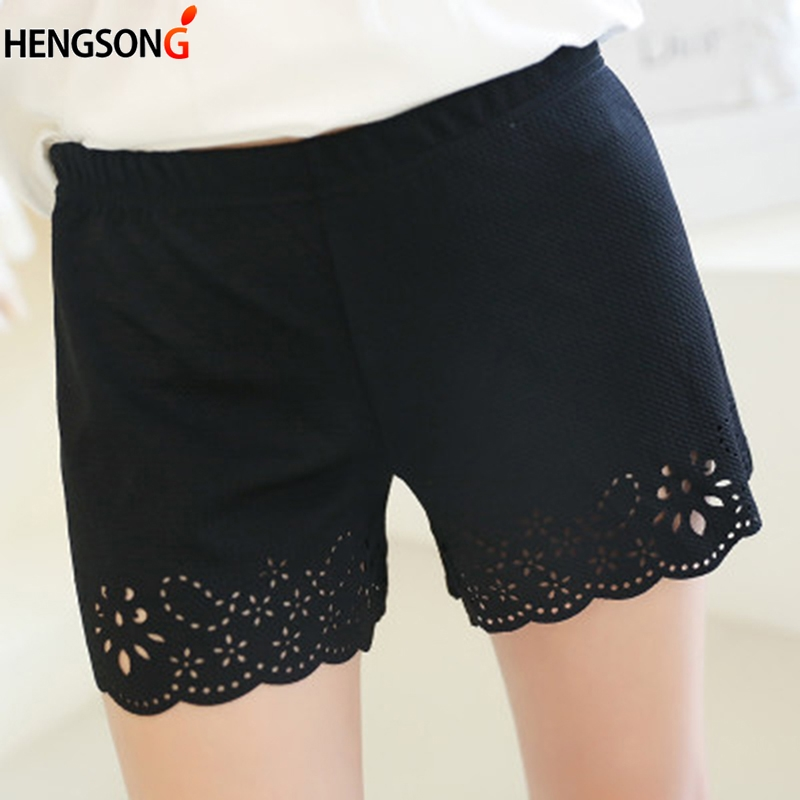 2018 Women The Best Hot Safety Short Pants Elastic Anti Chafing Lace Sock Middle Waist Prevent Leg Thigh Chafing Sock New