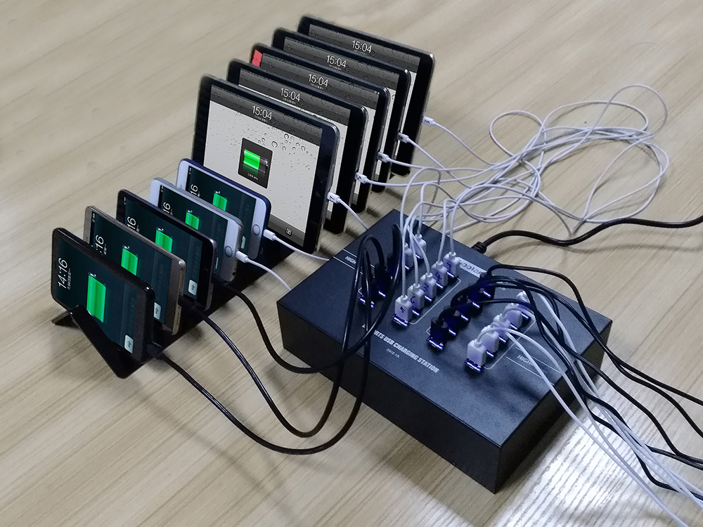 Powered USB 20 Hub,mobile phone charging kiosk,USB Desktop Charger iPhone 5 SE 6 7For Samsung LG Huawei  Xiaomi Mi5 new 4 port usb hub desktop charger dock for tablet and any mobile phone