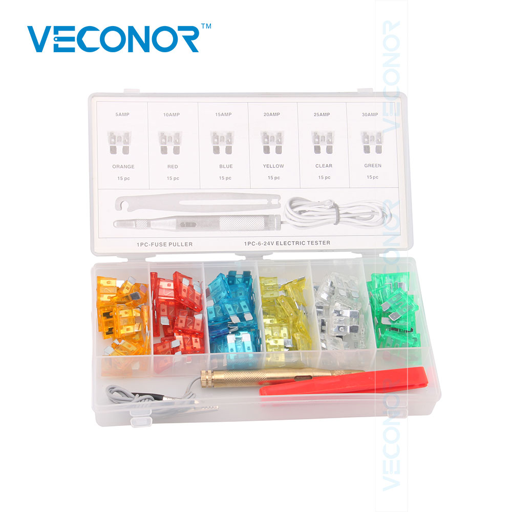Car Fuse Box Short Circuit Schematic Diagrams Builder 92pcs Mini Blade Assortment Auto Motorcycle Suv Kit Apm Atm 2001 Sonata Diagram