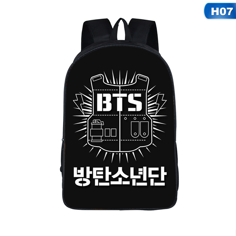 New Arrival Bts Boys Student Backpacks Female Printing Children School Bags For Boys Kids Men Book Bag Drop Shipping #6