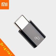 אוניברסלי מקורי Xiaomi USB סוג C מתאם מיקרו USB נקבה ל usb 3.1 Typec סוג C זכר כבל ממיר מהיר מטען להתחבר