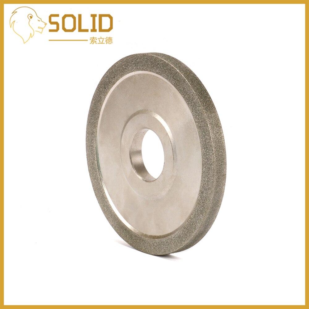 Diamond Grinding Wheel 100/125/150mm Grit100 Cutter Grinder Grinding Disc For Grinding Abrasive Cutting Tool Sand Width 10mm