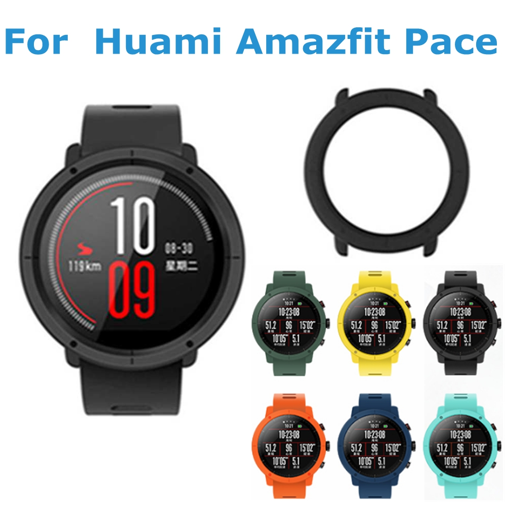 Watch Cases For Xiaomi Huami Amazfit Pace Smartwatch Case PC Protective Cover Case Bumper Pace 2 Smart Sports Watch Accessories