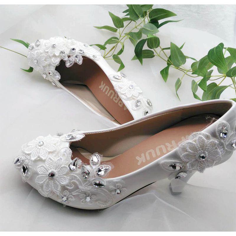 Verkäufe Kristall Spitze Point Weißen Strass 8 Dame Bridal Silber Heel Schuhe 3cm Heel Braut Heel 5cm Hochhackigen 4 Hochzeit Pumps Brautjungfer Heel Flat Mit 11cm Heel 0xqp0rwOf