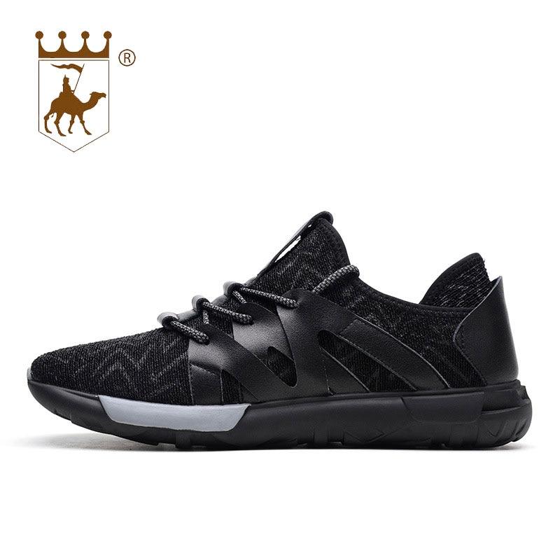 Backcamel Black Lumière Plat Taille Mode Confortable Hommes Respirant Chaussures khaki Chaude Casual grey Dentelle 2018 Sauvage up Nouveau Vente 44 Maillage 38 HzqwHr8