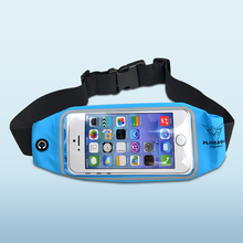 Waist-Bag Touch-Screen Water-Proof Music-Sports Golf for Running Fishing Lycra And PVC