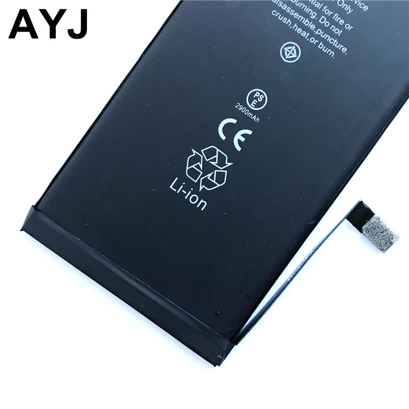 2018 Original AYJ Battery For iPhone 7 Plus iPhone7plus Replacement Batteries Lithium Polymer Bateria 2900mAh Free Tools Kit