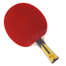 цена на Double fish advance 6AC 6stars table tennis finished rackets paddle 5 Ply pure wood racquet fast attack with loop ITTF approved