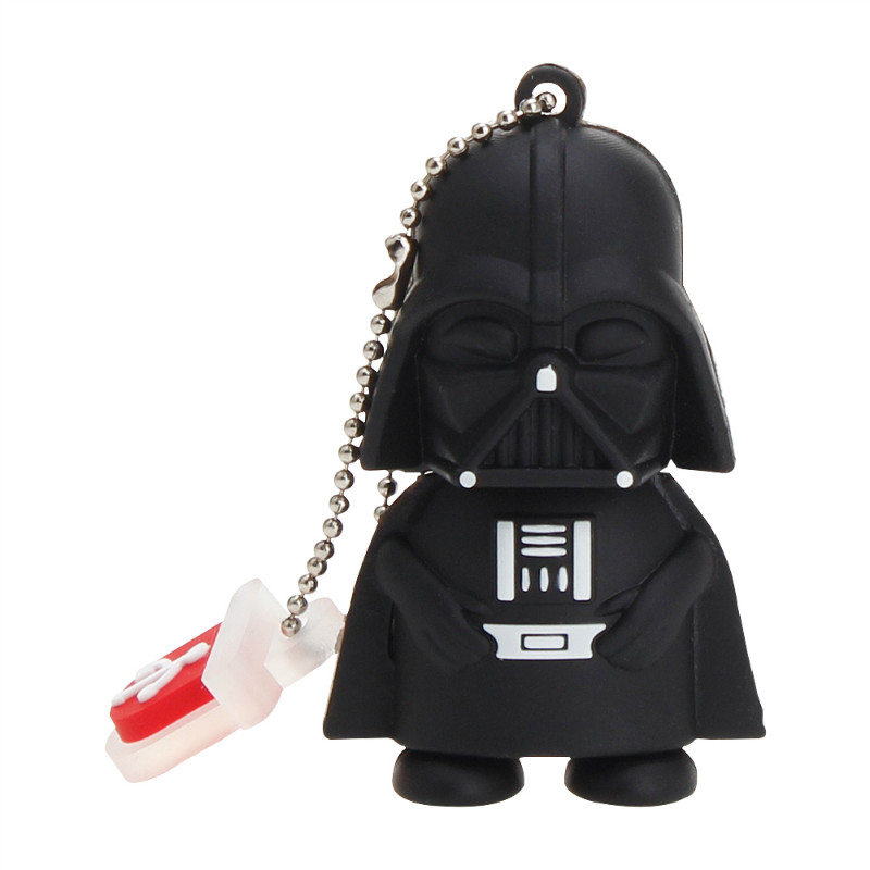 Image 4 - Crazy Hot Star Wars Cartoon Flash Memory Stick 32GB 64GB 128GB 8G 16GB USB Flash Drive 2.0 High Quality Pen Drive Robot Pendrive-in USB Flash Drives from Computer & Office