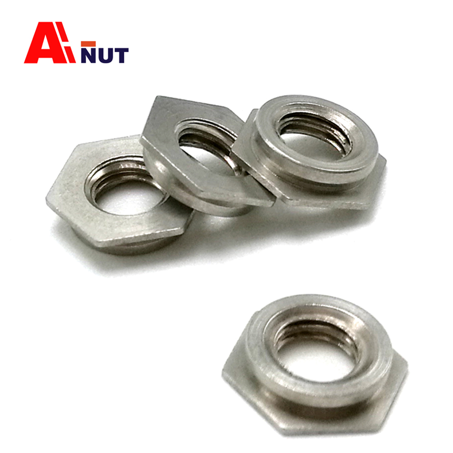 m2 m2.5 m3 m4 m5 m6 Self clinching flush nut , 304 stainless steel flush nuts , pem unified self-clinching insert nuts цена