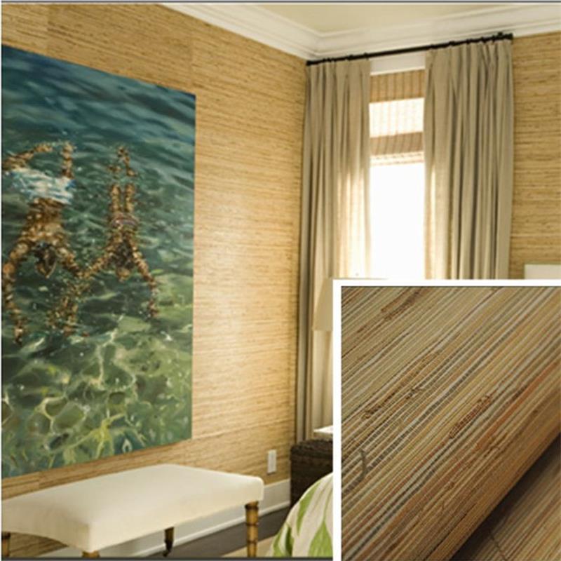 Natural Sea Grasscloth Wallpaper Most Natural Walls Design Sample ...