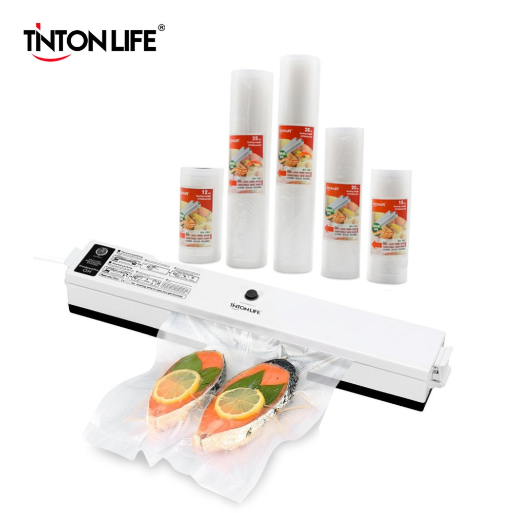 TINTON LIFE Vacuum Food Sealer Vacuum Sealer Bags Vacuum Sealer CoverTINTON LIFE Vacuum Food Sealer Vacuum Sealer Bags Vacuum Sealer Cover