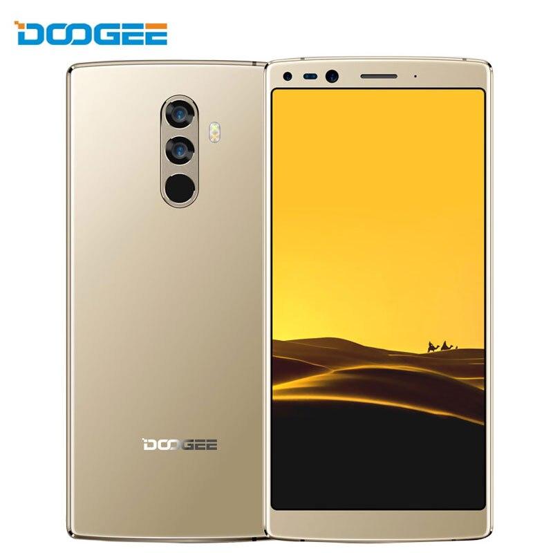 DOOGEE Mix 2 смартфон 6 дюймов 6 ГБ Оперативная память 128 ГБ Встроенная память Android 7,1 восемь ядер 16MP + 8MP 5V2A Quick Charge 4060 мАч отпечатков пальцев 4G телефо