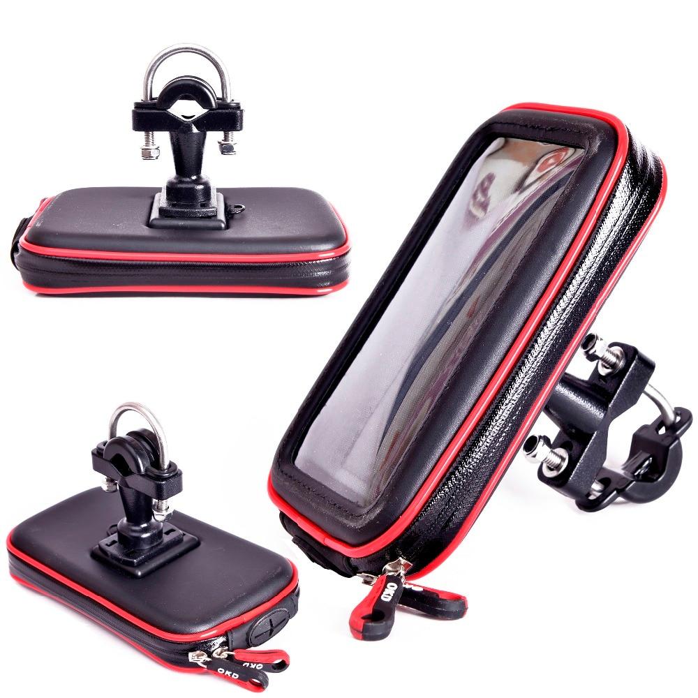 Super Strong Waterproof Bike Phone Holder Metal Support  Mobile Phone GPS Motorcycle Phone Holder Suporte Para Celular