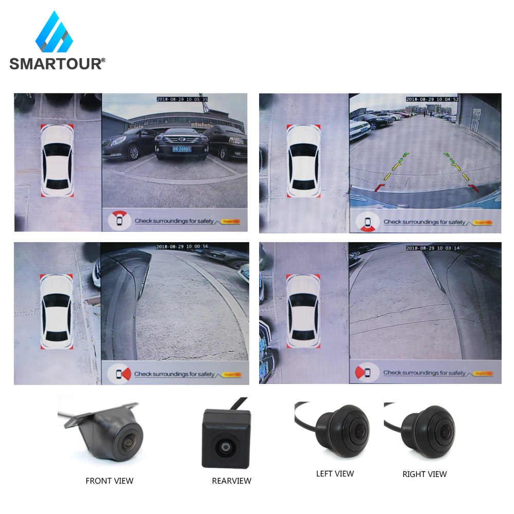 Smartour Авто панорамная камера заднего вида 360 градусов автомобильная парковочная система камера все круглое ночное видение камера заднего вида De Recul