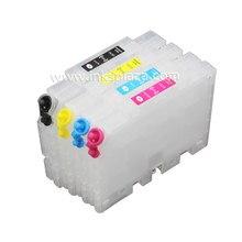 CISSPLAZA – 2 cartouches d'encre rechargeables, compatibles avec Ricoh GX3050N, GX5000, gx50n, GX7000, GX2050N, GX2500, GX3000, GC21