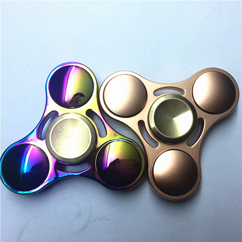 NEW Stress Spinner toys Anxiety Stress wheel Fidget spinner handspinner metal hand spinner fidget puzzle Funny
