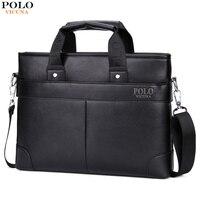 VICUNA POLO Promotional Mens Briefcase Casual Business Men's Shoulder Bag Large Size Computer Laptop Handbag Business Man Bag