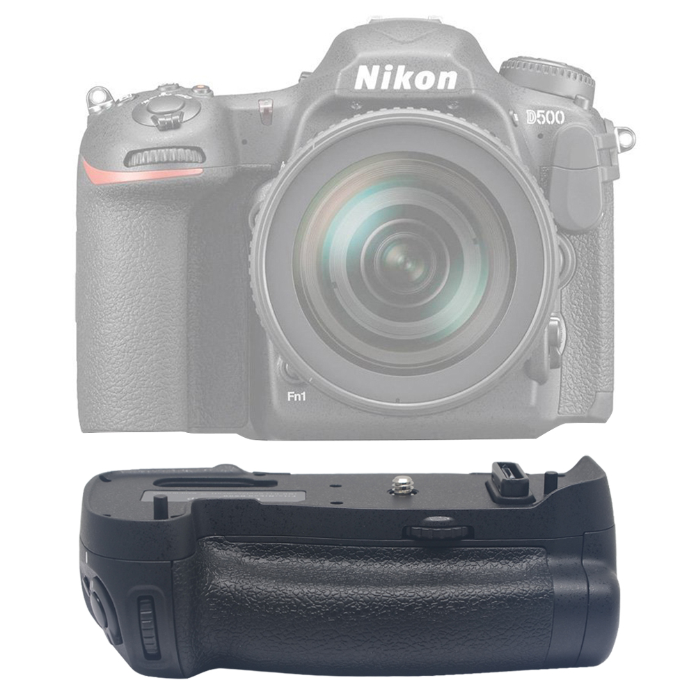 ФОТО Mcoplus BG-D500 Professional Battery Grip for Nikon D500 works with EN-EL15 Battery & AA Battery as Nikon MB-D17