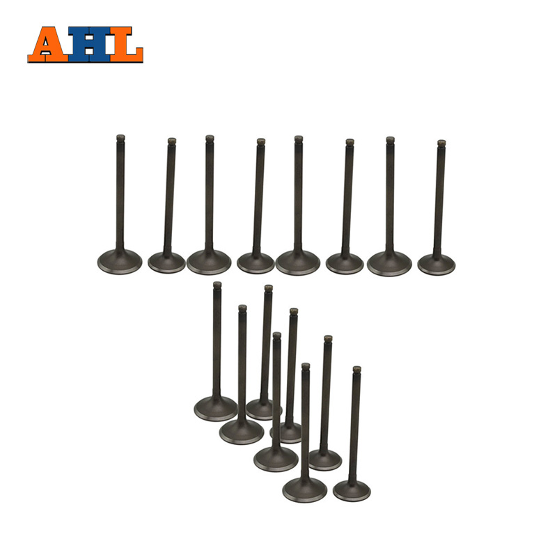 AHL A Set 16 PCS INTAKE EXHAUST VALVE STEM For HONDA 400 VFR21 VFR24  VF400K VF 400K ( 8x intake & 8x exhaust) купить
