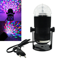 Voice Activated Laser Stage Effect Light Voice Control Crystal Magic Ball RGB LED Stage Lamps Ball For Party Music Disco DJ Club