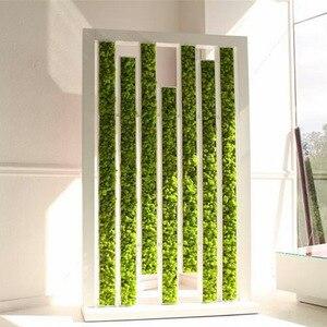Image 3 - نبات أخضر اصطناعي عالي الجودة ، نبات خالد ، نبات طحلب ، عشب منزلي لغرفة المعيشة ، ديكور جدران ، زهور إصنعها بنفسك ، إكسسوارات صغيرة
