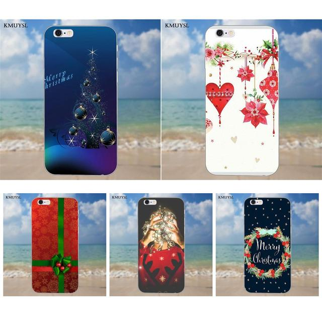 official photos fca0c 123b1 US $1.99 |Christmas Wallpaper Seasons For iPhone 4 4S 5 5C SE 6 6S 7 8 Plus  X Galaxy S5 S6 S7 S8 Grand Core II Prime Alpha TPU Cases Cover-in ...