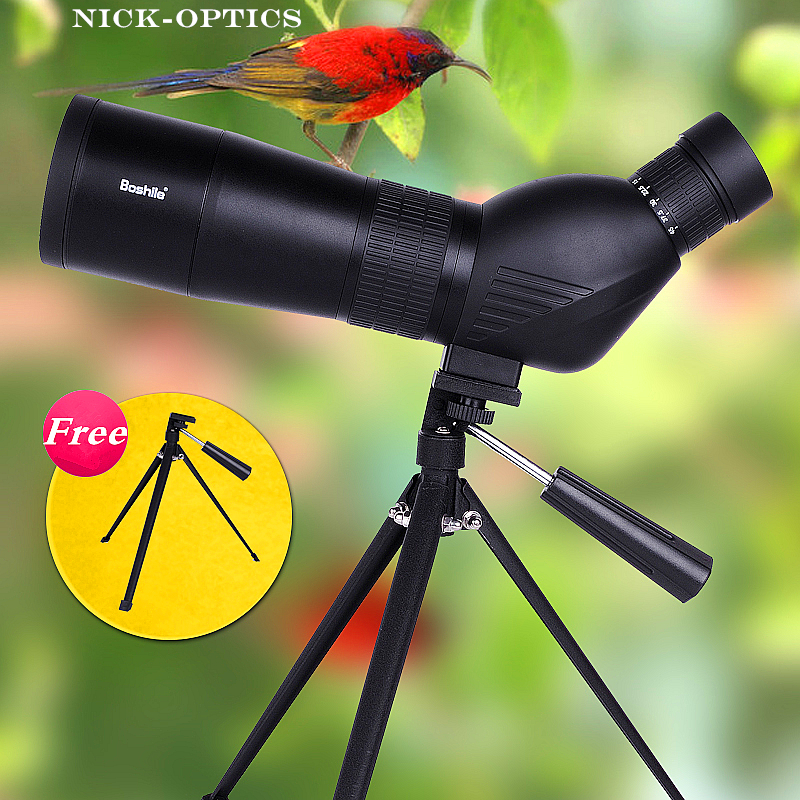 High times 15-45x60 Zoom Monocular Powerful Spotting Scope for Bird Watching Astronomical Landscape with Free tripod and bag eyeskey 15 45x60 waterproof zoom professional spotting scopes hd optical monocular hunting for birding watching free shipping