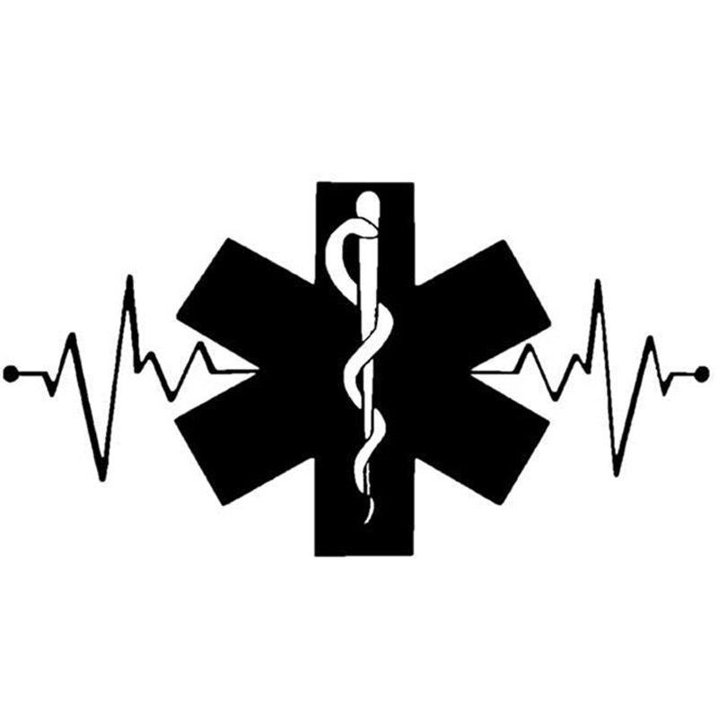 20cm106cm Snake Heartbeat Lifeline Decorative Car Stickers Decal