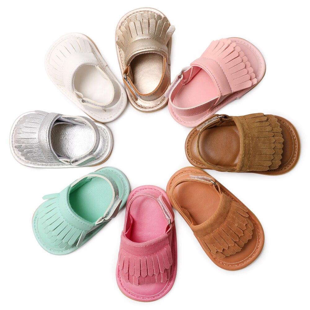 Baby Sandals Summer Leisure Fashion Baby Girls Sandals For Children kids Girls Boys Infant Sandals 8 colors