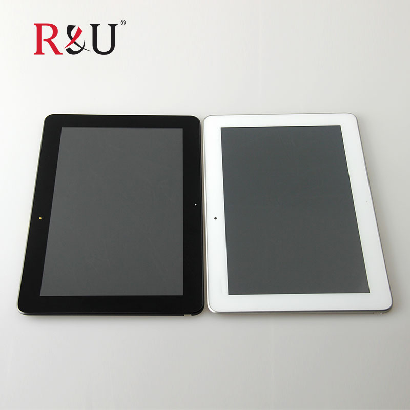 R&U LCD screen display touch screen Digitizer Assembly with frame replacement For ASUS Transformer Pad ME103 TF103C K010 ME103C new touch screen digitizer lcd display with frame for asus eee pad transformer tf101 tracking number good quality