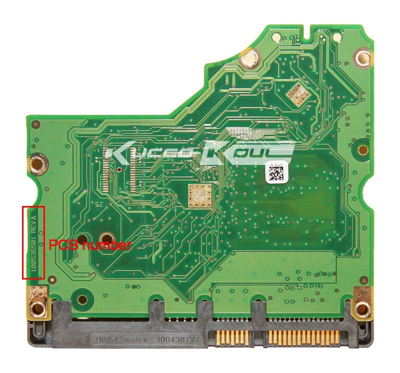 Piezas de disco duro placa lógica placa de circuito impreso 100536501 para Seagate 3.5 SATA HDD Recuperación de datos disco duro reparación