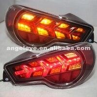 Для Toyota GT86 FT86 LED Задние огни назад лампы 2013 2014 Год Дым Красный SN
