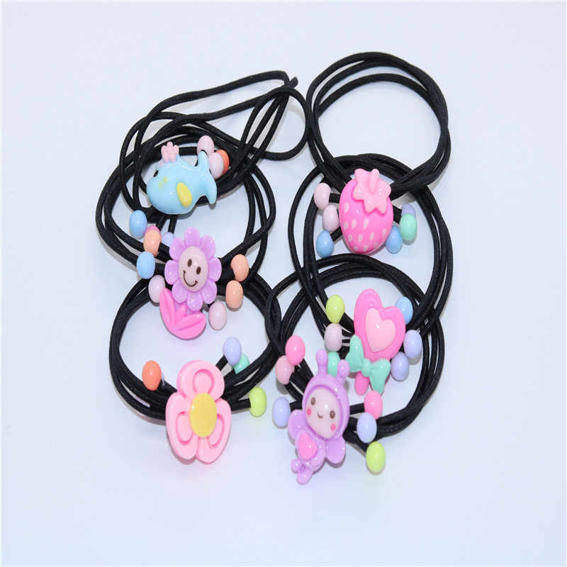 Children's fashion elastic band hair band cute girl accessories