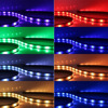 7 Colors 4 In 1 RGB LED Light Strip Car Styling Music Control Automobile Chassis Lights