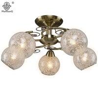Classical Moden Flower Ceiling Lamp E14 Bulb Bedroom Living Room Ceiling Lights For Home Lighting Luminaire