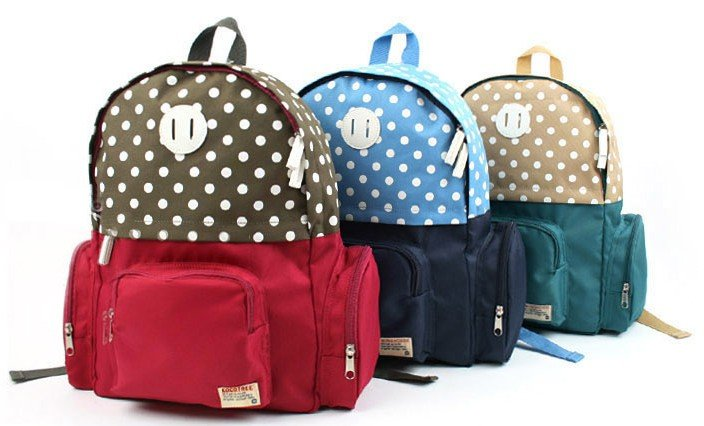 Free shipping good quality canvas bag ,school bag baby, kids ...