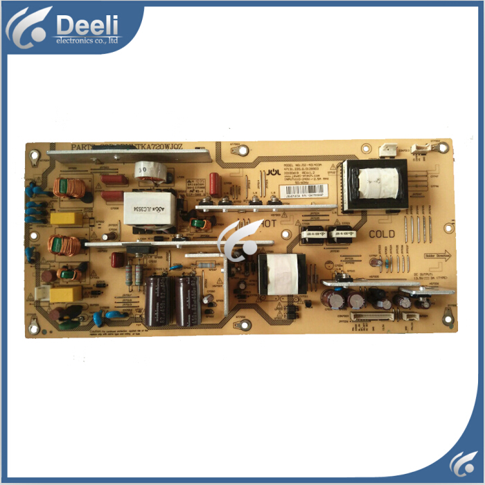 100% New for Original power supply board LCD-40Z120A RUNTKA720WJQZ JSI-401403A good working lcd 32d500a power supply runtka673wjqz jsi 321001 is used