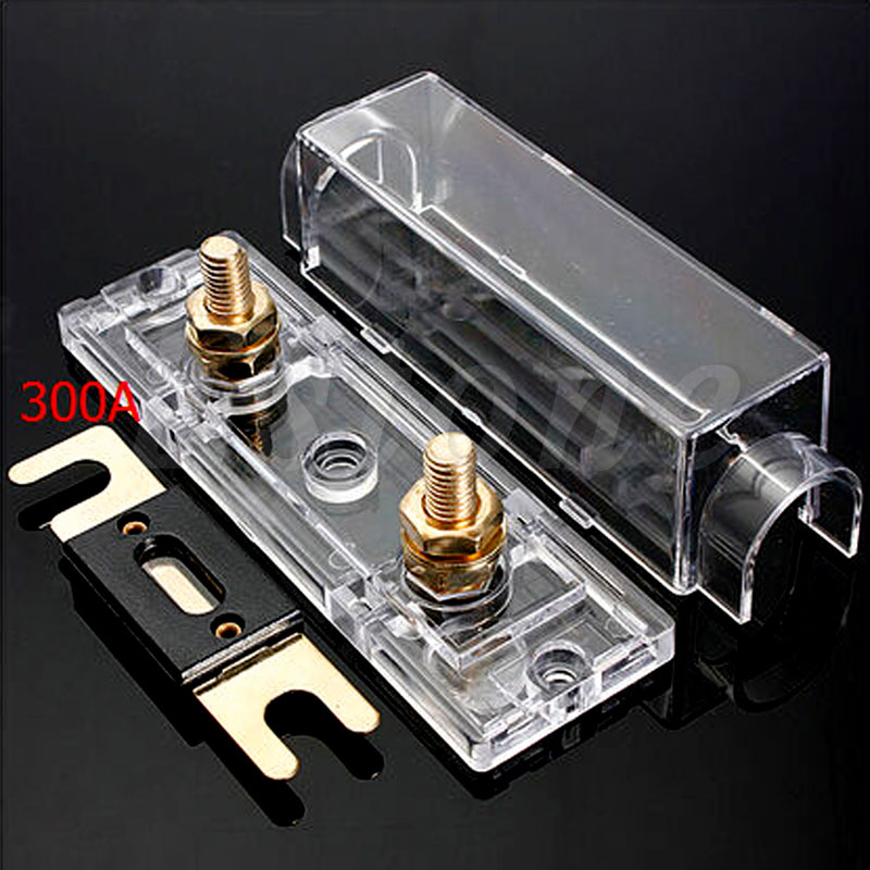 Car Fuse Boxes ANL Fuse Box Holder Distribution INLINE 0 4 8 GA Positive With 300AMP car fuse boxes anl fuse box holder distribution inline 0 4 8 ga anl fuse box at n-0.co