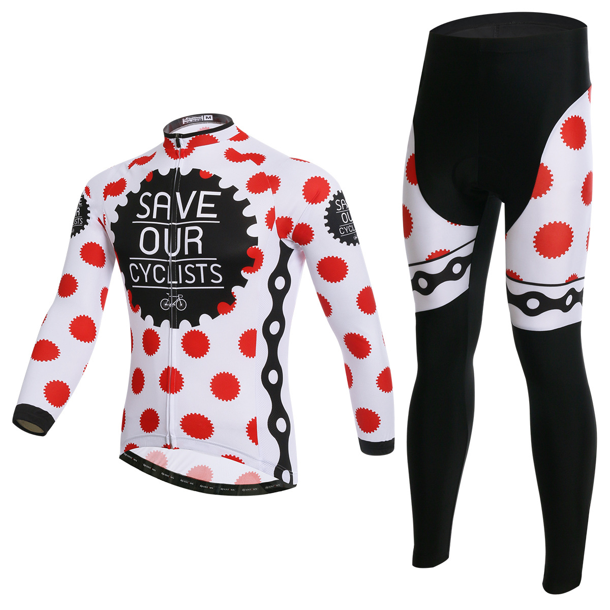 XINTOWN Fate Cycling Long Sleeve Suit bike riding jersey wear clothes spring autumn moisture perspiration quick-drying underwear