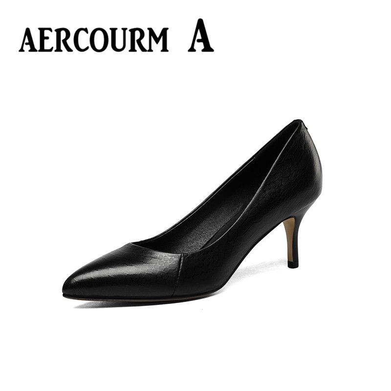 ФОТО Aercourm A Lady 2017 High Heels Womens Spring High-Heeled Shallow Mouth Single Shoes Woman Summer Italy Sexy Womens Shoes
