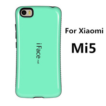 Fundas Xiaomi Mi5 Case Shockproof Protective Case for Xiaomi Mi5 Anti-Knock Cover candy color