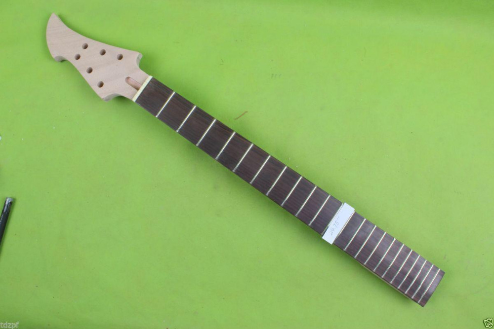 24.75 inch DIY electric guitar neck Mahogany rosewood Special Headstock 22 fret #1807 цены