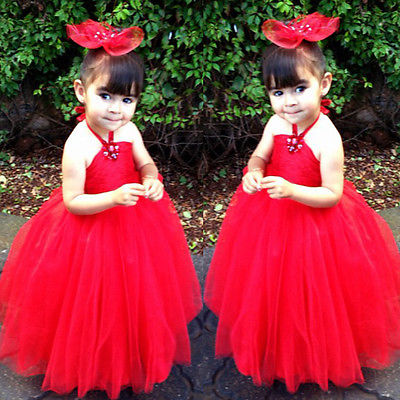 2017 new fashion summer  sleeveless v-neck Girl Kid Gown Wedding Prom Baby Bridesmaid Flower Princess Party Lace Dress 2-11Y free shipping new arrival 2015 fashion summer baby girl lovely flower sleeveless bowknot round neck party dress hot sale