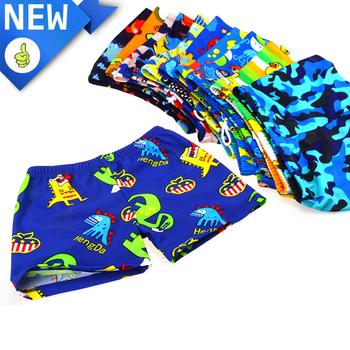 Nowe dziecięce kąpielówki dla chłopców stroje kąpielowe szybkoschnące krótkie kostiumy kąpielowe dla dzieci kreskówki dla chłopców kąpielówki plażowe stroje kąpielowe tanie i dobre opinie Cartoon Polyester GCWHFL China